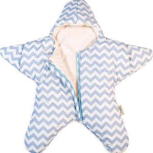 Dětský spací vak Star Light Blue - doprava zdarma!