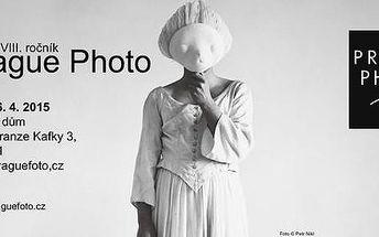Vstupenka na tradiční výstavu PRAGUE PHOTO