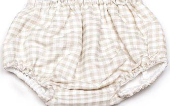 Oboustranné kalhotky na plenky Vichy Diaper, od 3 do 6 měsíců