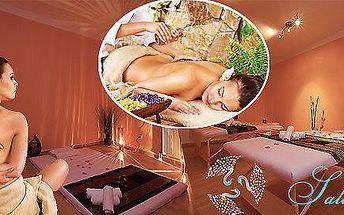 Úžasná aroma olejová masáž