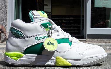 Tenisky Reebok Classic Pump Court Victory White/Green/Citron bílá / zelená