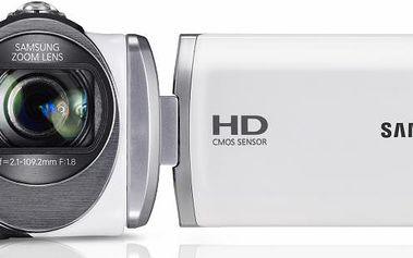 HD videokamera Samsung HMX-F90 s neuvěřitelně velkým 52× optickým zoomem
