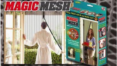 Magnetická síťka na dveře proti otravnému hmyzu! Ochraňte své obydlí od komárů, much a užijte si čerstvý vzduch bez nepříjemných štípanců!