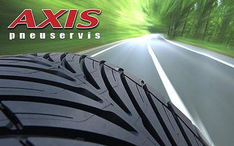 Přezutí pneumatik přímo v centru