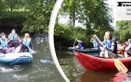 Vodácký zážitek na řece Moravě