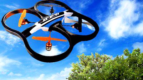 Dron Patriot s kamerou na dálkové ovládání