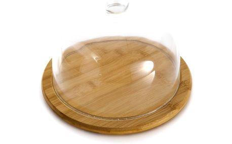 Bambusový stojan na dorty Focus, 20 cm
