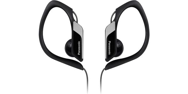 Špuntová Panasonic RP-HS34E-K, černá šedá