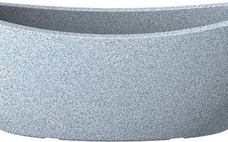 Truhlík Globe 58x23 cm, bílý