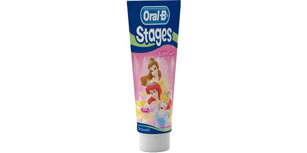 Zubní pasta pro holčičky ORAL-B Stages (75 ml)