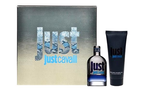 Roberto Cavalli Just Cavalli for Him EDT dárková sada - Edt 50ml + 75ml sprchový gel