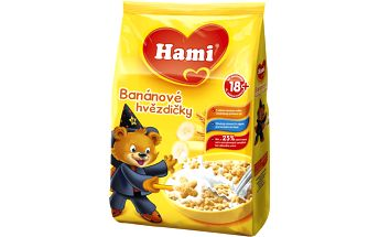 Hami Banánové hvězdičky 6x180g