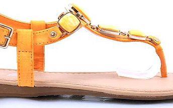 Letní dámské sandálky J-02OR