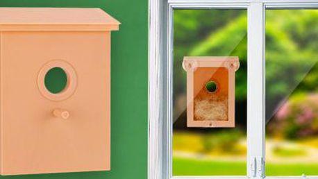 Ptačí budka na okno: Přivítejte jaro a pomozte ptáčkům zahnízdit!