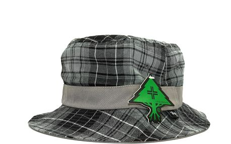 Klobouk LRG Heavy Mental Graphite zelená / černá