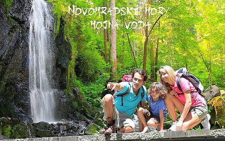 Novohradské hory pro dva v hotelu Hojná Voda, s polopenzí, bohatým balíčkem a dětmi do 3 let zdarma