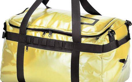 Vodotěsná cestovní taška z obzvláště odolného materiálu Duffle Team 45 citro