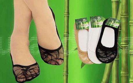6 párů ponožek do balerínek