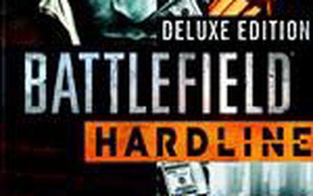 3D - Akční hra Battlefield: Hardline - Deluxe Edition (PS3)