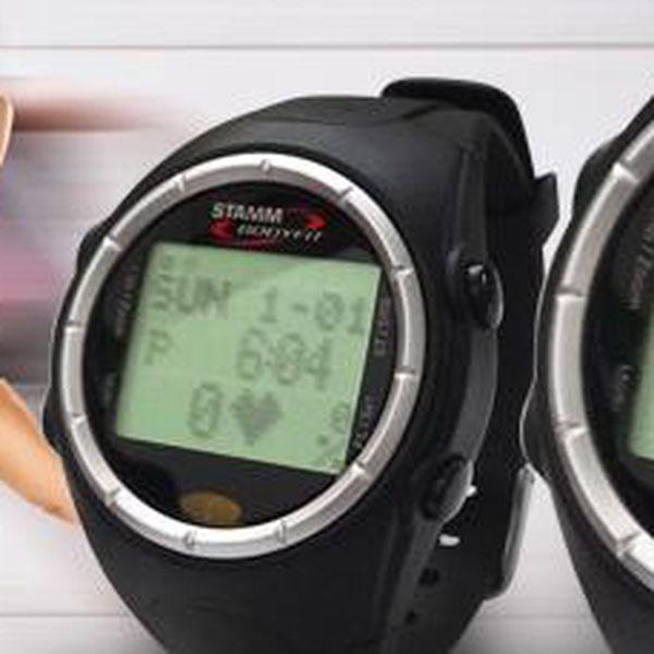 Sportovní hodinky: Stamm HRMX 8.0 s pamětí a se 41 funkcemi.