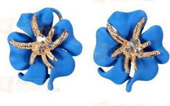 Rozkošné náušnice v podobě květin a poštovné ZDARMA! - 9999920723