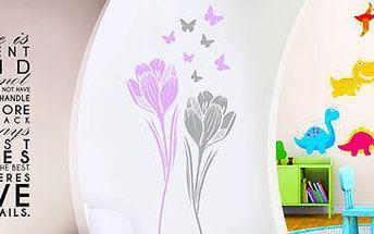 Dekorační samolepky na zeď: Doladí interiér k dokonalosti!