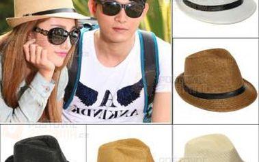 Slaměný unisex klobouk - více barev a poštovné ZDARMA! - 9999920720