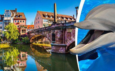 Poznávací zájezd do překrásné zoologické zahrady v Norimberku s návštěvou největší delfíní laguny.