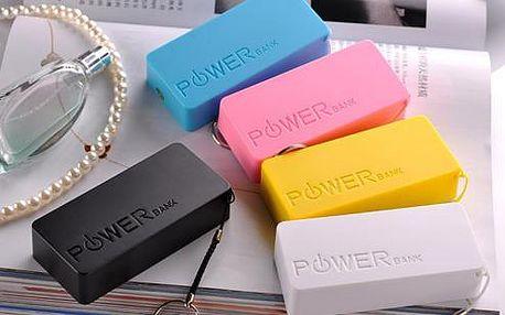 Power banka 2600mAh a 5600mAh - externí baterie s doručením zdarma