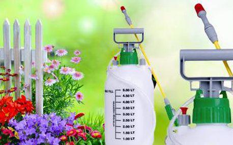 Ruční tlakový postřikovač: Báječný pomocník nejen v péči o rostliny!