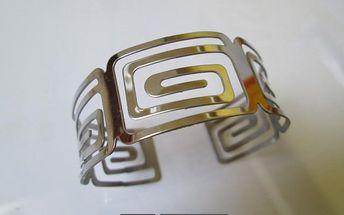 Aztécký náramek z nerezové oceli!