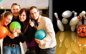 2 hodiny bowlingu v brněnské herně Excalibur! Až pro 10 osob a zapůjčení speciální bowlingové obuvi.