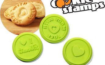 Razítka na sušenky vytvoří z obyčejných sušenek originál!