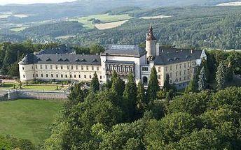 3 dny PRO DVA v romantickém 5* Chateau Zbiroh s wellness