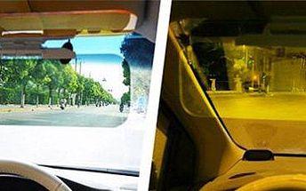 Clona do auta: ochrana proti oslnění ve dne i v noci!