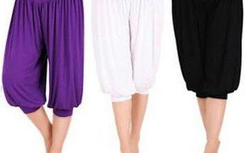 Módní dámské harémové kalhoty v různých barvách