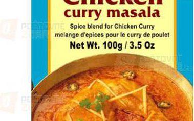 Koření na kuře na kari - 100 g a poštovné ZDARMA s dodáním do 3 dnů! - 9999917373