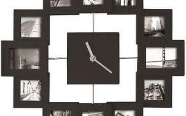 Originální dekorace pro váš domov: Hodiny s fotorámečkem