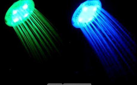 Chytrá sprcha měnící barvy podle teploty vody!