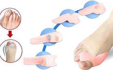 Uľavte svojim nohám s ortopedickou pomôckou. 2 kusy palcového fixátora.