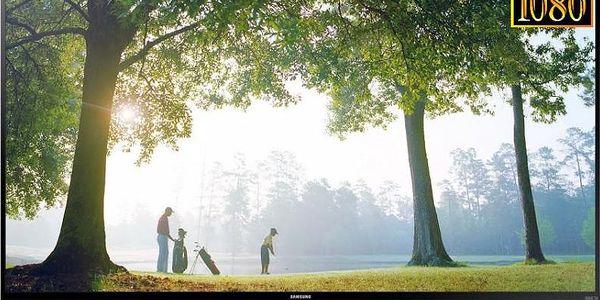 3D LED televize Samsung s technologií 600 Hz CMR Samsung UE48H6700