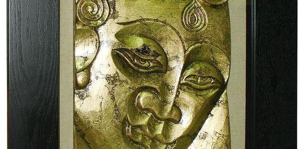 Obraz Buda Diana, 50x5x60 cm - doprava zdarma!