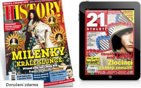 Předplatné History revue + bonus