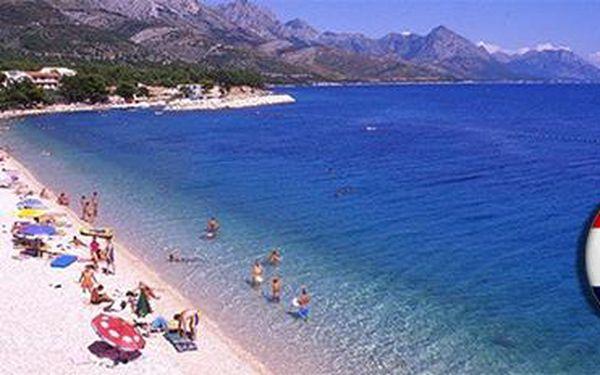 Chorvatsko, Makarská riviéra: Týdenní pobyt pro 3 osoby v chatkách přímo u moře!