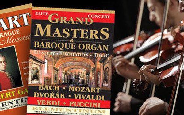 Mozart ve Staré Praze - koncerty v Klementinu