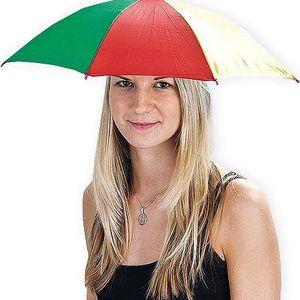 Deštník na hlavu, 4 barvy