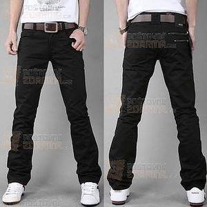 Černé pánské kalhoty pro volný čas a poštovné ZDARMA! - 9999906360