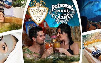 Mořská relaxace pro dva v Rožnovském pivovaru