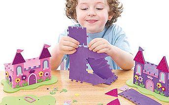 Sada k výrobě 3D zámku pro princezny (2ks)