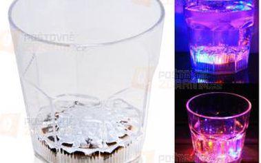 Panáková sklenička s LED světlem a poštovné ZDARMA! - 9999920924